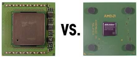 Xeon vs. Athlon MP