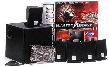 Creative Labs Soundblaster Audigy Surround 5.1 perspic