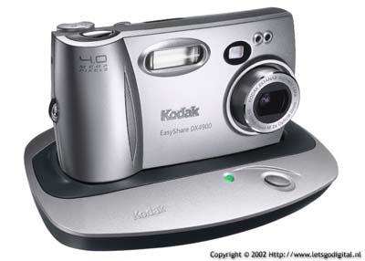 Kodak DX4900 4 Megapixel camera (met dockingstation)
