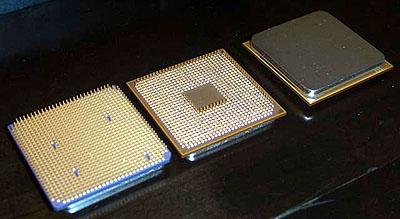AMD ClawHammer en SledgeHammer pins