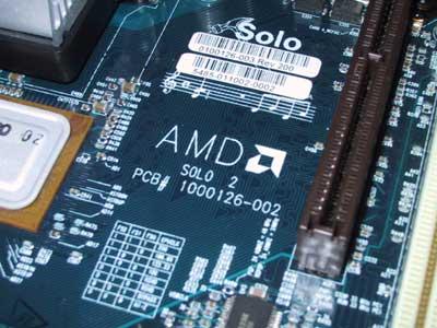 AMD-8000 chipset met Intel sound onboard