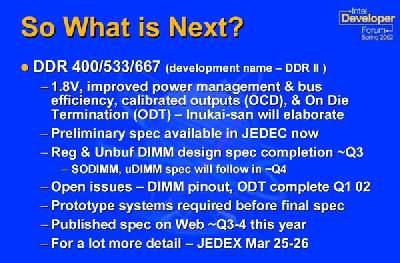 Intel over DDR-II