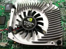 nVidia GeForce4 heatsinkfan open