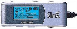 iRiver IMP350 SlimX afstandsbediening met zeer scherp backlight