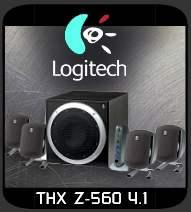 Logitech Z-560 speakers