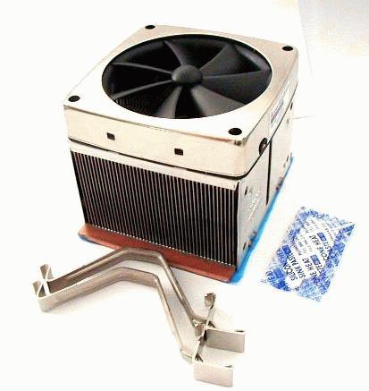 Magnetische fan op heatsink