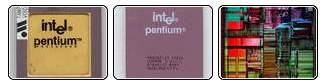 Intel Pentium collage