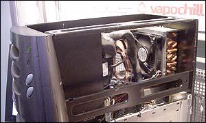 VapoChill 2,2@3GHz Pentium 4 systeem @ CeBIT