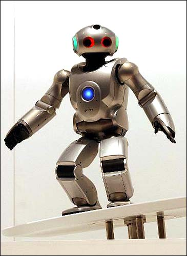 Sony SDR-4X robot