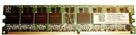 Kingmax TinyBGA DDR400