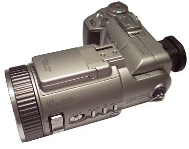 Sony Cybershot DSC-F707 camera
