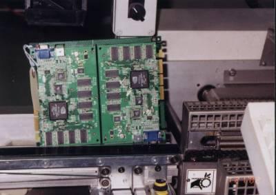 VisionTek dubbel PCB voor scheiding