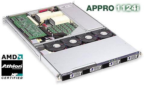 Appro 1124i dual Athlon MP 1U rackmount
