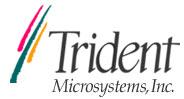 Trident Microsystems Inc. Logo