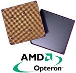 AMD Opteron logo en chip (vrij, klein)