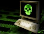 Virus - groene doodskop