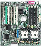 Asus PR-DLS dual Xeon mobo (klein)