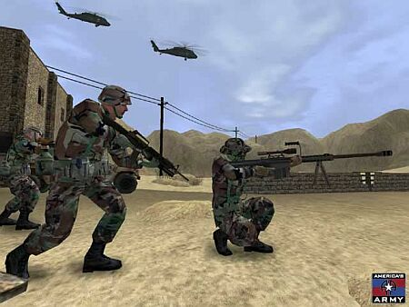 Screenshot America's Army