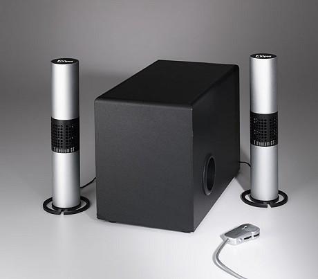 AOpen Titanium GT 2.1 speakerset
