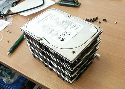 Serverupgrades 29 mei - 4x Seagate Cheetah 36LP