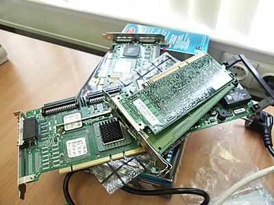 Serverupgrades 29 mei - RAID controller, NIC en videokaart voor Alicia