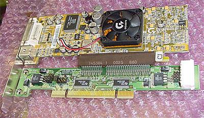 AGP naar PCI converter