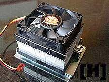 ThermalTake Socket754 Hammer heatsink design