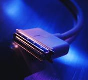 SCSI stekker