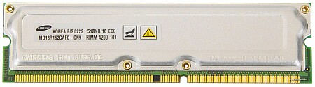RIMM 4200 RDRAM reep