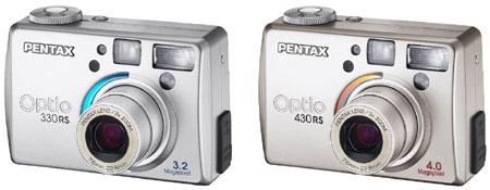 Pentax Optio 330RS en 430RS
