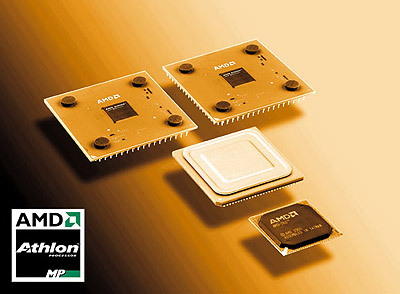 Dual AMD Athlon MP met 760MPX chipset perspic