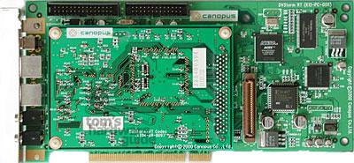 Canopus DVStorm SE video-editing kaart