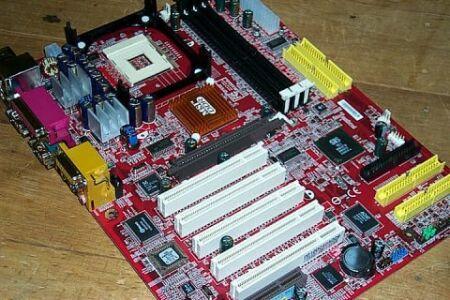 MSI 645E Max2 Pentium 4 moederbord