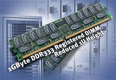 Infineon 1GB PC2700 reepje perspic