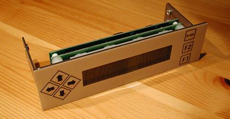 Voorkant Matrix Orbital BLK202A-WB-4BR LCD