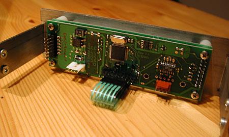 Achterkant Matrix Orbital BLK202A-WB-4BR LCD
