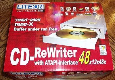 LiteOn CD-RW 48/12/48