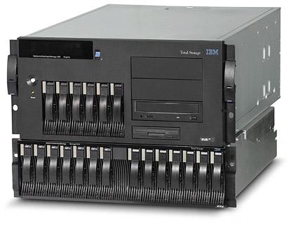IBM iSCSI storage server rackmount