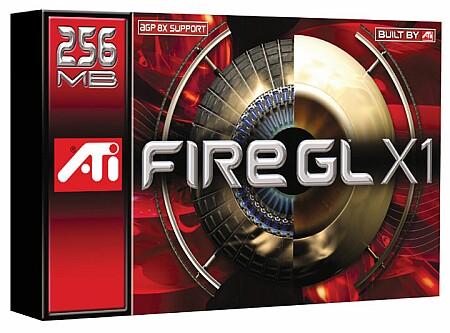 ATi Fire GL X1 doos (klein)