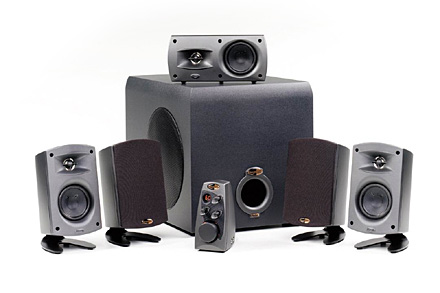 Klipsch Promedia 5.1 speakerset