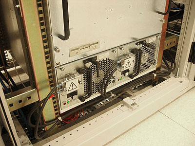 Juniper M40 router TrueServer - achterkant