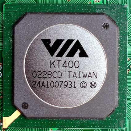 VIA KT400 chipset