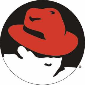 Red Hat logo (rood)
