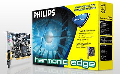 Philips Harmonic Edge PSC602 doos + kaart