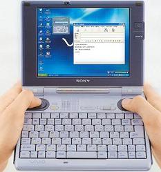 Sony Vaio mini-laptop