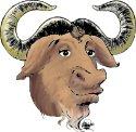 GNU logo (kleur, klein)