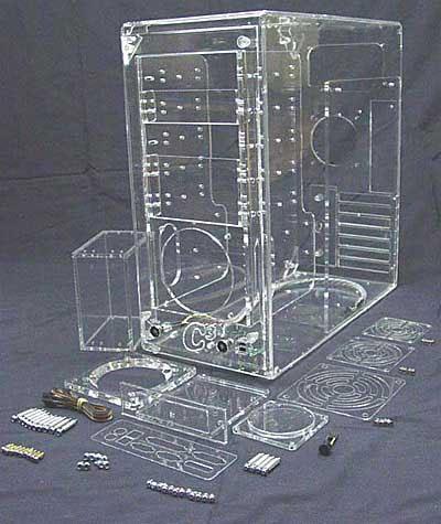 C3 CT-1310 plexiglazen kast