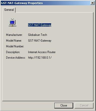 D-Link DI-604 herkend door Windows