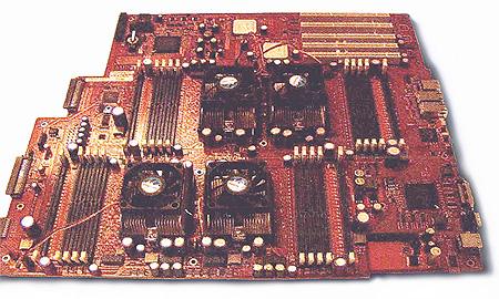 AMD quad Opteron moederbord (klein)