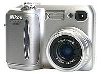 Nikon Coolpix 4300 voorkant